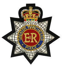 More details for greater manchester police embroidered blazer badge
