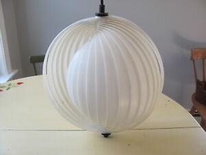 Vintage MCM Verner Panton Moon Pendant Lamp For Poulsen - MOMA Reissue