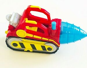 Marvel Hasbro 2011 Action Rolling Mole Vehicle Blue Spinning Front