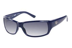 Harley Davidson Herren Rechteck Sonnenbrille HDX860 NV3 Navy Blau / Grau OVP