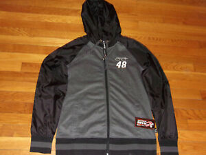 NWT CHASE JIMMIE JOHNSON NASCAR FULL ZIP HOODED ATHLETIC JACKET WOMENS LARGE