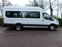 2014 (64) FORD TRANSIT 17 SEAT MINI BUS  EURO 6   (NO VAT)