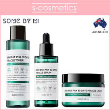 [SOME BY MI] AHA BHA PHA 30 Days Miracle Toner + Serum + Cream Set