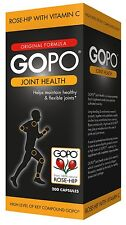 GoPo Joint Health Rosehip Capsules 200s