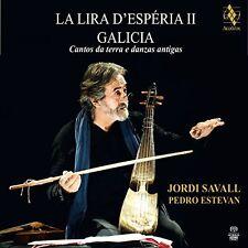 Savall / Estevan - La Lira D'esperia Ii-Galicia-Cantos Da Terra E Dan [New SACD]