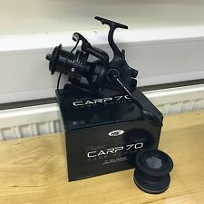 1 Dynamic Carp 70 NGT 10BB Big Pit Large Fishing Reel FREE Runner Spare Spool