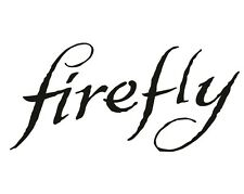 Firefly Logo Decal / Sticker - Choose Color & Size - Serenity, Brown-coats