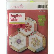 Matildas Own English Whirl Hexagon Patchwork Templates