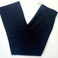 Men trousers 28 in size L30 black SHS Florence brand straight wide leg RRP £49