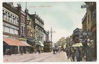 Cardiff Queen Street 1908 Tuck View Postcard 178c