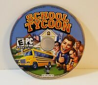 School Tycoon PC CD-Rom 2003 windows sim simulation game free shipping