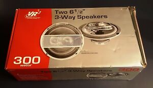 """Virtual Reality Sound Labs Speakers 6 1/2"""" 3-Way VR360"""