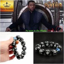 Wakanda King T'Challa Cosplay Jewelry Usa Black Panther Kimoyo Bracelet Beads