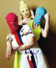 PUSSY RIOT Signed Autographed 8x10 Photo Full Band Group reprint