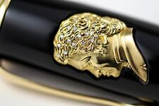 Montblanc Beethoven Symphony No. 9 Yellow Gold & Diamonds LE Fountain Pen #9/9