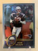 Tom Brady - 2003 Topps Chrome #124 - New England Patriots PSA Ready