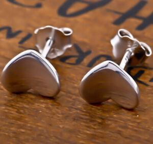 Orecchini a Farfalla Orecchini Cuore Piccolo Cuoricini Di Argento Sterling 925