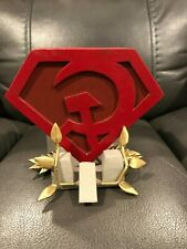 1/6 SCALE-CUSTOM- SUPERMAN RED SON BASE/ STAND/ DIO..MUST SEE...