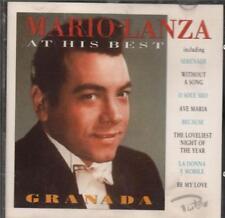 Mario Lanza(CD Album)At His Best-VG
