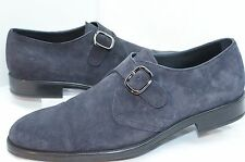 New Tod's Men's Shoes Loafers Drivers Size 9 Blue Suede Holiday Sale