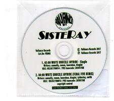 (ID500) Sisteray, White Knuckle Joyride - 2017 DJ CD