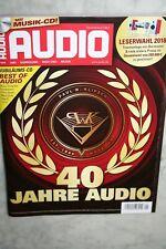 Audio 01/2018 Zeitschrift ohne CD !!!!!