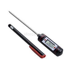 Meat Thermometer Digital Cooking Instant Read LCD Kitchen Grill BBQ Baby Milk