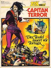 ZACK COMIC BOX 23, CAPITAN TERROR, Koralle Verlag