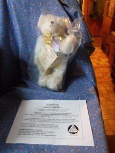 "NIP  Hermann Zodiac Bear Libra Made of Mohair No. 35 of 250  About 10 1/2"" High"