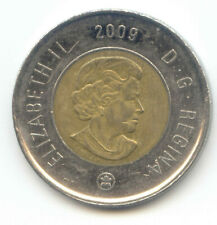 Canada 2009 Toonie Canadian $2 Dollars Twoney Toony Two Dollar EXACT COIN SHOWN