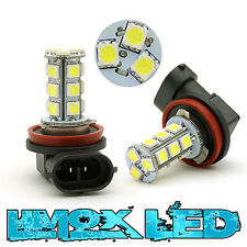 H11 LED Lampe Nebelscheinwerfer Xenon Weiß - Audi A5 S5 18x 5050 SMD Canbus