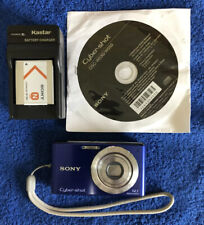 Sony Cyber-shot DSC-W530 14.1MP Digital Camera Video Sweep Panorama Blue~~Nice~