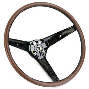69 Mustang/Fairlane Rim Blow Steering Wheel ONLY, Also Australian Falcon