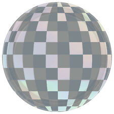 Hello New Year's Eve Party Tableware Disco Ball Drop Small Cake Paper Plates x 8