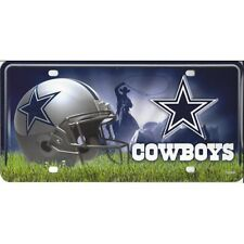 NFL Cowboys License Plate Personalized Engraved Auto Car Tag New