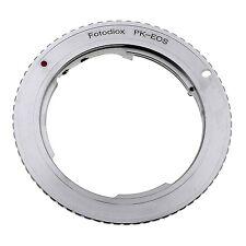 Fotodiox Lens Mount Adapter - Pentax K Mount (PK) SLR Lens to Canon EOS (EF-S...