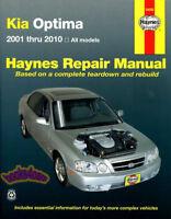 OPTIMA KIA SHOP MANUAL SERVICE REPAIR BOOK HAYNES WORKSHOP CHILTON 2001-2010