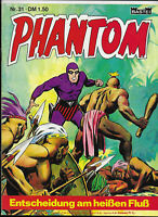 Phantom Nr.31 - TOP Z1 BASTEI KRIMI COMIC-HEFT Lee Falk