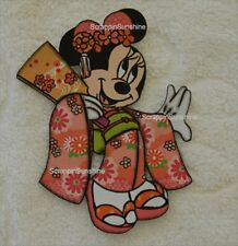 DISNEY JAPAN MINNIE Printed EPCOT Scrapbook Page Paper Piece - SSFFDeb