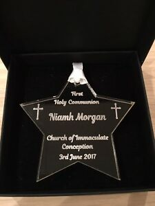 Personalised First Holy Communion Star Keepsake, Gift
