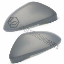 GOLF MK7 2013-16 SIDE DOOR WING MIRROR COVERS CAPS CASINGS HOUSING LEFT & RIGHT