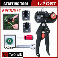Garden Grafting Tool Set Kit Fruit Tree Pro Pruning Shears Scissor Cutting Tools