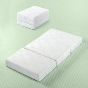 Zinus Gel Memory Foam 5 Inch Tri-Fold Comfort Portable Folding Mattress or...