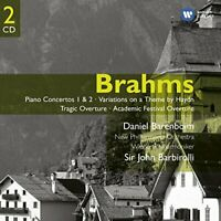 Sir John Barbirolli - Brahms: Piano Concertos 1 and 2 - Variations on [CD]