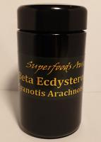 Beta Ecdysterone Extract 90% 25g Powder Cyanotis Arachnoidea Extract Miron Jar
