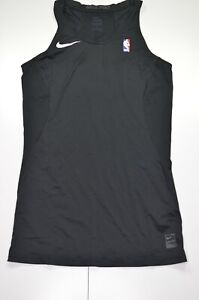 Nike NBA Nike Pro Breathe Tank Top SZ LT RARE Black Player Issued
