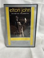 Elton John - One Night Only: The Greatest Hits (DVD, 2001)