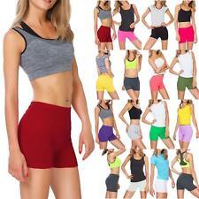 New Women Ladies Running Jogging Swimming Slim Fit Sports Gym Sports Mini Shorts