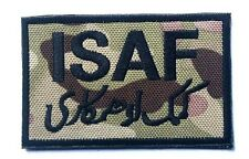 ISAF International Security Assistance in Afghanistan 3D USA ARMY  PATCH