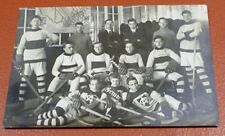 1913-14 Postcard Hockey Academie Team